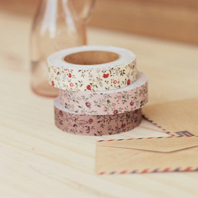 Fabric Adhesive Tape - Minimums - Indian Pink