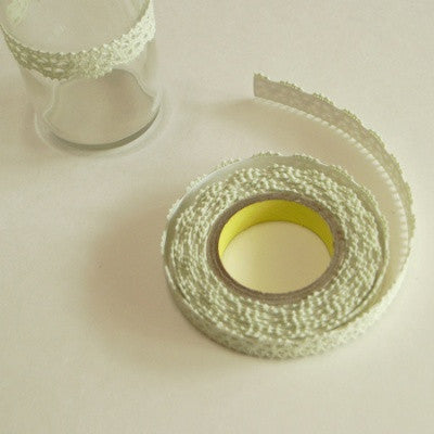 Lace Adhesive Roll Tape - Pastel Green 19