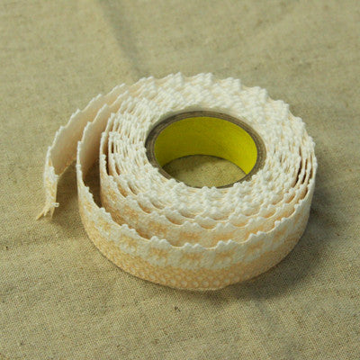 Lace Adhesive Roll Tape - Apricot 17