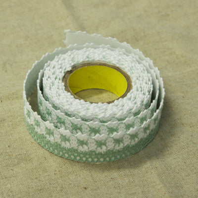Lace Adhesive Roll Tape - Green 13