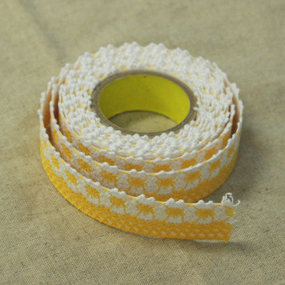 Lace Adhesive Roll Tape - Yellow 12