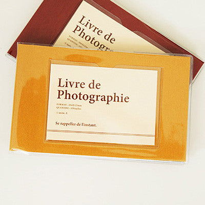 Photo Album Single - Yellow ocher ok