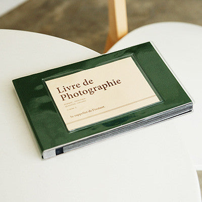 Photo Album Single - Dark Green ok