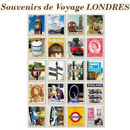 Stamp Sticker Set V.1 - London VY5096