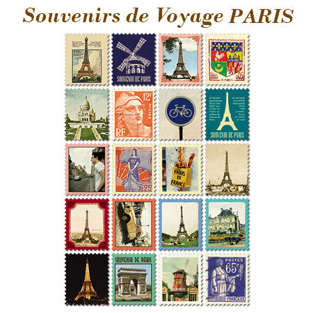 Stamp Sticker Set V.1 - Paris - VY5102