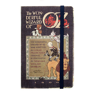 Hardcover Note - The Wizard of Oz - Never Ending - S - Blank Note