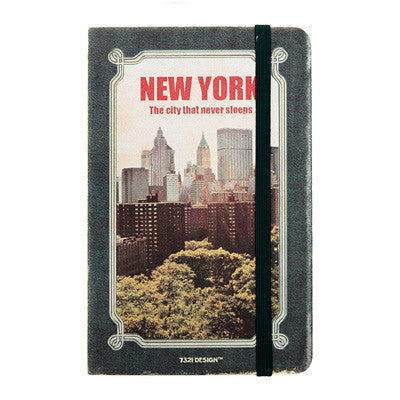 Hardcover Note - New York - Never Ending - S - Line Note