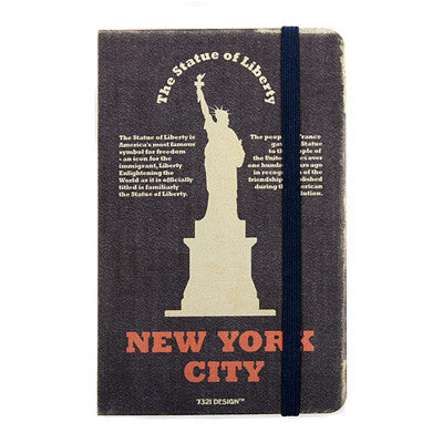 Hardcover Note - New York - Never Ending - S - Blank