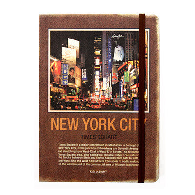 Hardcover Note - New York - Never Ending - L - Blank Note