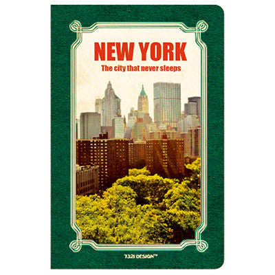 Stitch Notebook - New York - Line Note - Pocket - VY6970