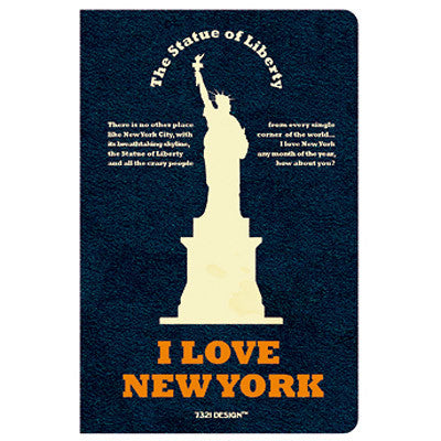Stitch Notebook - New York - Blank Note - Pocket - VY6987