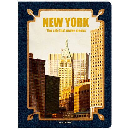 Stitch Notebook - New York - Weekly Planner - S - VY7113