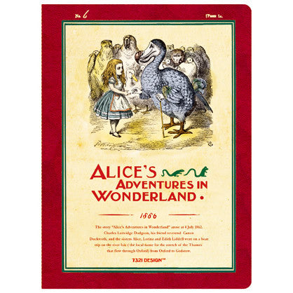 Stitch Notebook - Alice in Wonderland - Line Note - S - AL7007