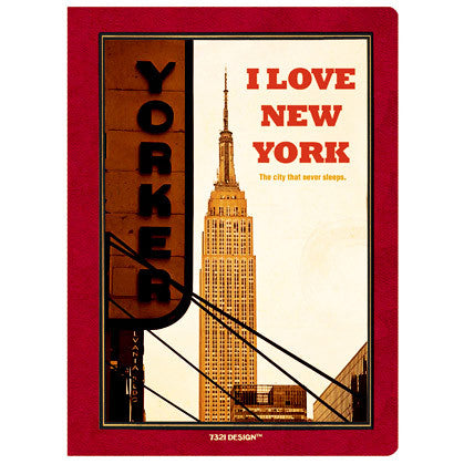 Stitch Notebook - New York - Line Note - S - VY7120