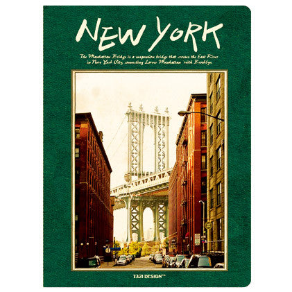 Stitch Notebook - New York - Blank Note - S - VY7137