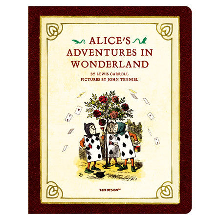 Stitch Notebook - Alice in Wonderland - Weekly Planner - L - AL7144