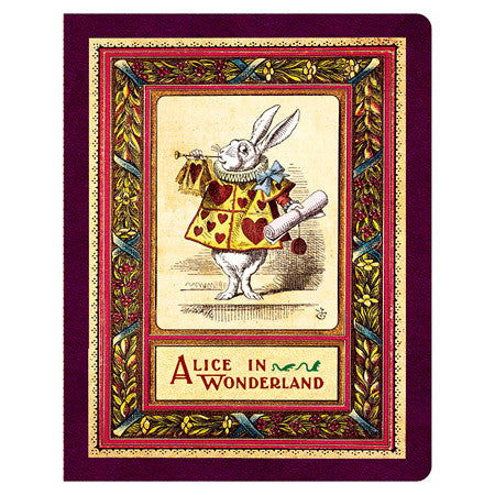 Stitch Notebook - Alice in Wonderland - Line Note - L - AL7151