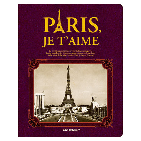 Stitch Notebook - Paris - Line Note - L - VY7243