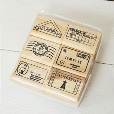 Journey Rubber Stamp - A