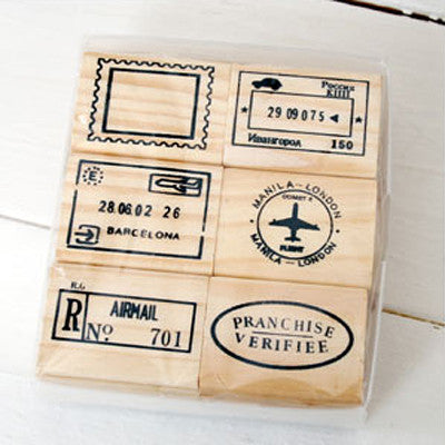 Journey Rubber Stamp - B