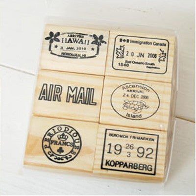 Journey Rubber Stamp - D