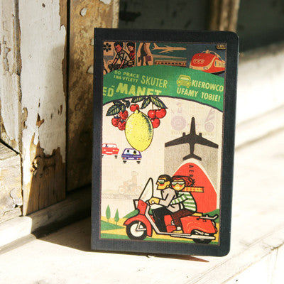Hard Cover Line Notebook Bon Bon Vintage - BB6222