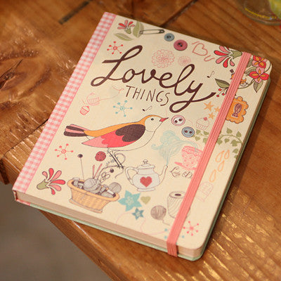 Hard Cover Line Notebook Lady Desidia 01 - Lovely - LV8110