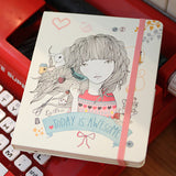 Hard Cover Line Notebook Lady Desidia 02 - Awesome - LV8127