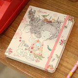 Hard Cover Blank Notebook Lady Desidia 05 - Dream - LV8158