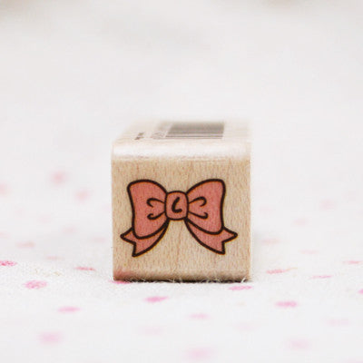Wood Stamp - Deco - D07 - Ribbon