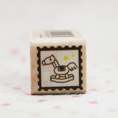Wood Stamp - Deco - D10 - Horse