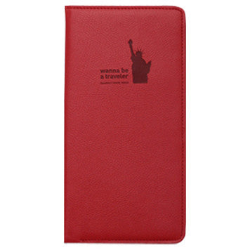 Passport Cover - Journey No Skimming Ver.2 - Red