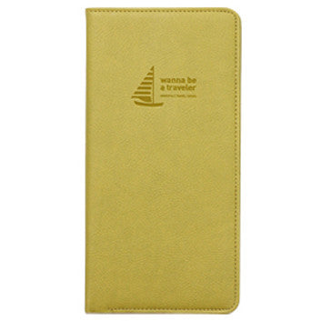 Passport Cover - Journey No Skimming Ver.2 - Olive