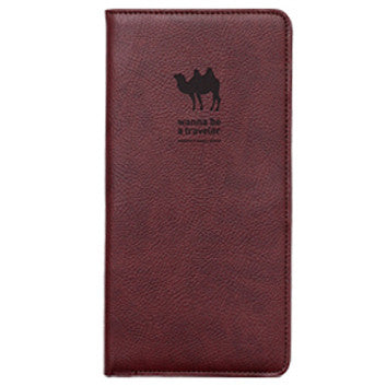 Passport Cover - Journey No Skimming Ver.2 - Choco