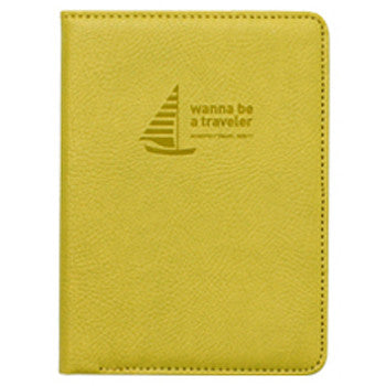 Passport Cover - Mini Journey No Skimming Ver.2 - Olive