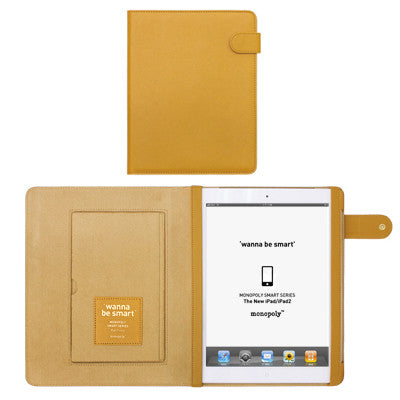Wanna Be Smart Ipad 2 Cover - Mustard