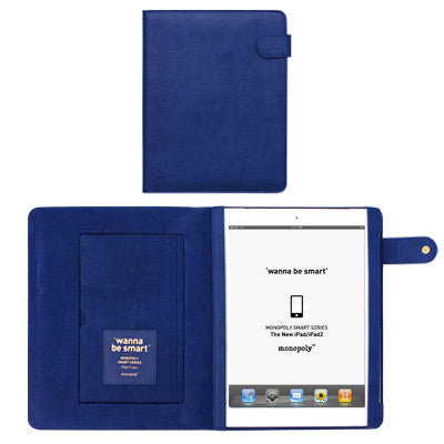 Wanna Be Smart Ipad 2 Cover - Deep Blue