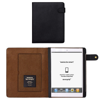 Wanna Be Smart Ipad 2 Cover - Black