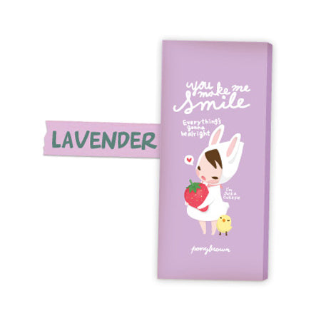 Pony Brown Pencil Pouch - You Make Me Smile - Violet