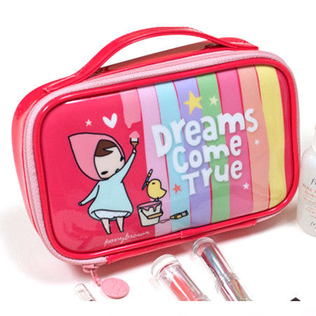 Cosmetic Pouch - Pony Brown - Dreams Come True
