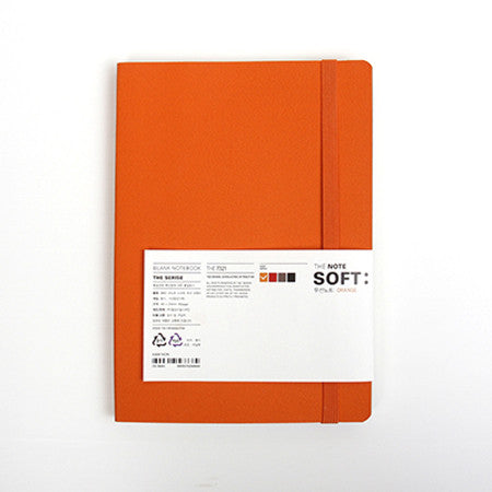 Soft Cover Notebook - The Note - Orange
