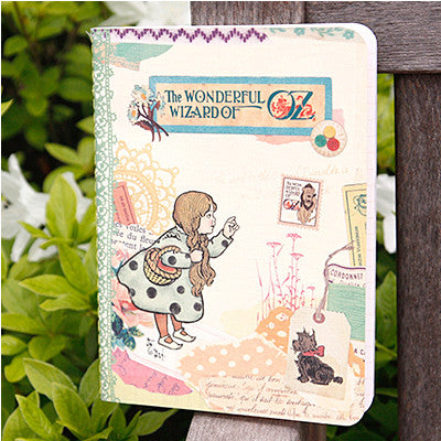 Stitch Notebook - The Wizard of Oz - Vintage Collage - Line Note - S - OZ1682