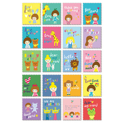 Stamp Sticker Set V.1 - Okaytina - OK5027