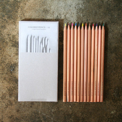 Color Pencil Set - 12 Units