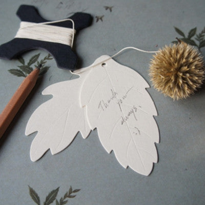Gift Tag Set - Leaf