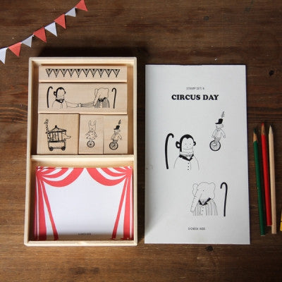 Kids Stamp Set - Circus