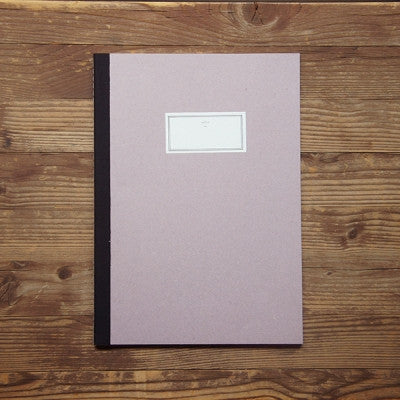 Stitch Notebook Plain - Pink - Size L
