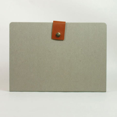 Accordion Folder - L Size - Grey