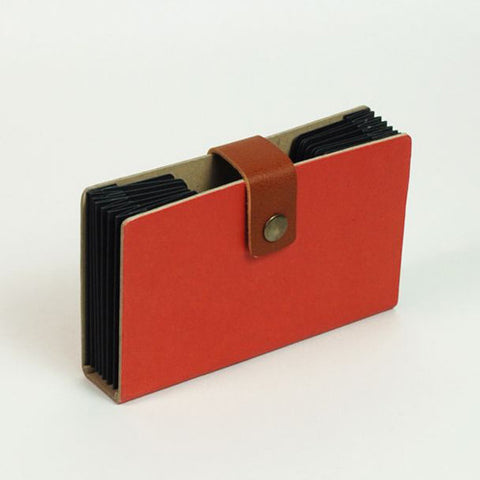 Accordion Folder - S Size - Red