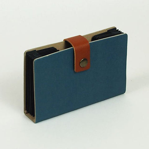 Accordion Folder - S Size - Blue
